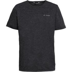 VAUDE Essential Camiseta Hombre, negro/gris